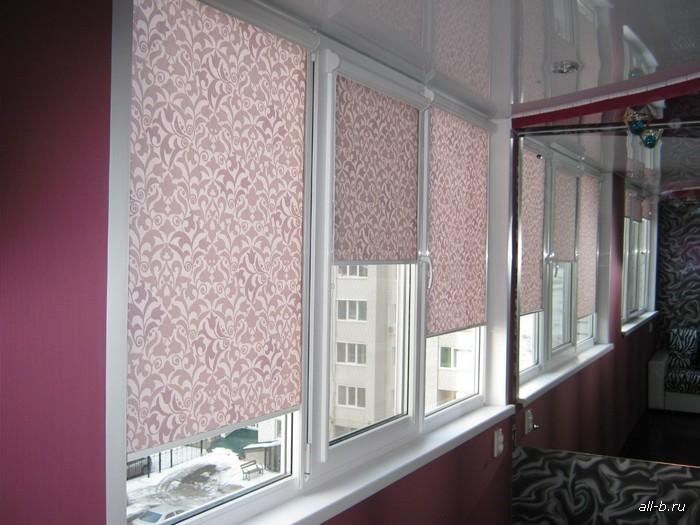Кассетные шторы (На пластиковые окна) Uni (уни)