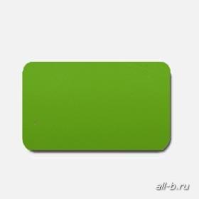 Горизонтальные жалюзи:25мм глянцевый зелёный