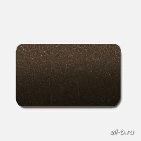 Горизонтальные жалюзи:25 мм металлик темно-коричневый