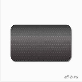 Горизонтальные жалюзи:25 мм перфорация черный