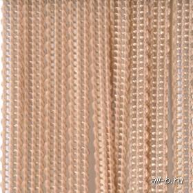 Вертикальные жалюзи бриз  (веревочные жалюзи):Бриз персиковый