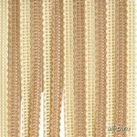 Вертикальные жалюзи бриз  (веревочные жалюзи):Бриз мульти бежевый