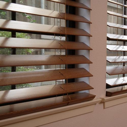 Деревянные жалюзи ширина ламели 50 мм