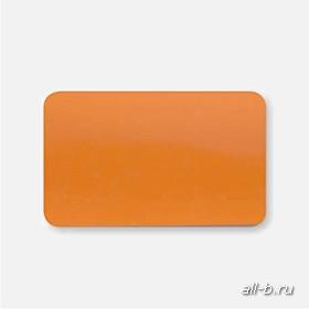 Горизонтальные жалюзи:25 мм глянецевый оранжевый