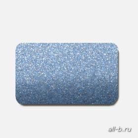 Горизонтальные жалюзи:25 мм металлик синий