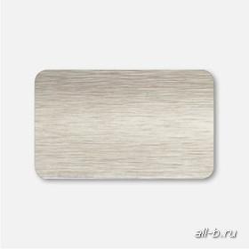 Горизонтальные жалюзи:25мм металлик браш белое золото