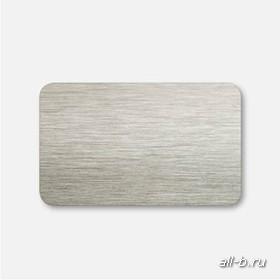 Горизонтальные жалюзи:25 мм браш белое золото