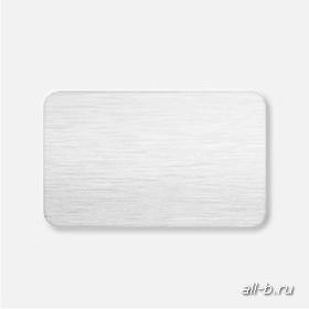 Горизонтальные жалюзи:25 мм браш белый