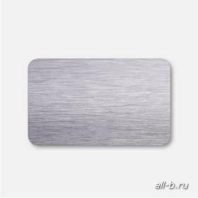 Горизонтальные жалюзи:25 мм браш серебро