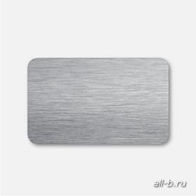 Горизонтальные жалюзи:25 мм браш темно-серый