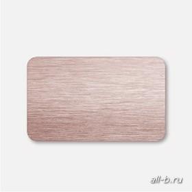 Горизонтальные жалюзи:25 мм браш светло- коричневый