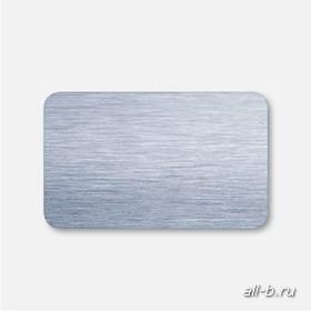 Горизонтальные жалюзи:25 мм браш голубой