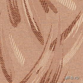 Вертикальные жалюзи Ткань:Джангл бронзовый металлик