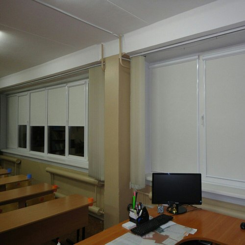 Кассетные шторы на створку
